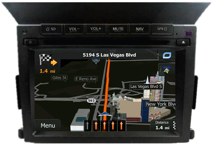 Navigation Gainesville GPS