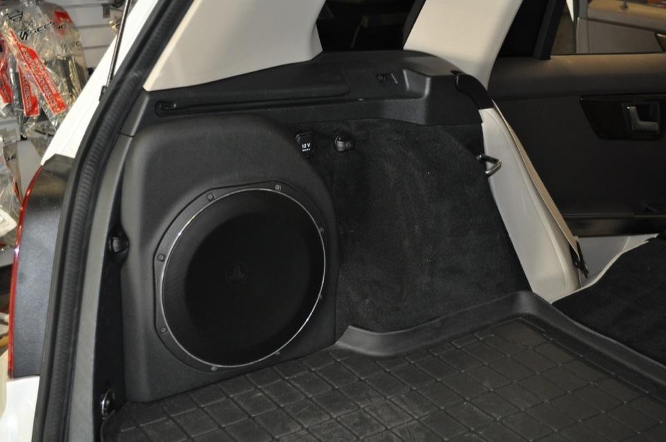 Mercedes Glk350 Audio Upgrade Thrills Newberry Client