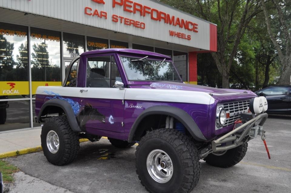 66 Ford Bronco Classic Car Audio Upgrade For Crazy Horse