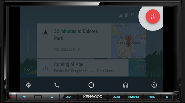 Android Auto Provides Voice Control Of Smartphone