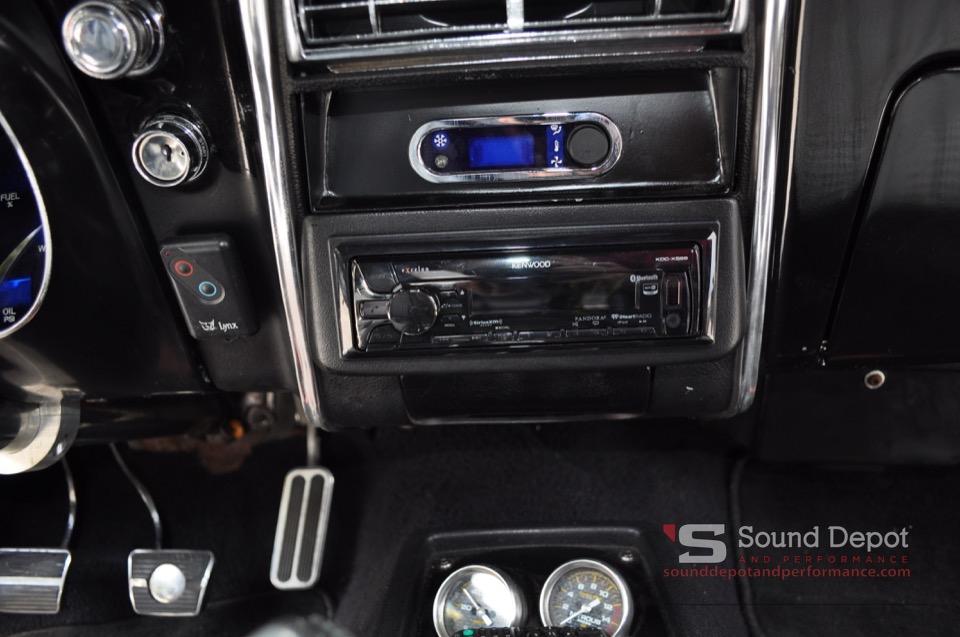 1968 Chevrolet Camaro Audio System For Gainesville Client