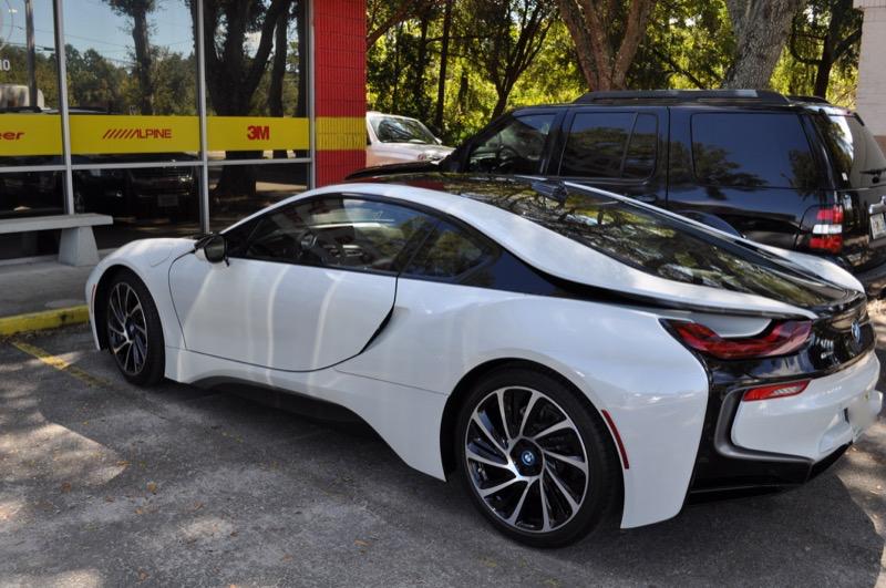 2016 BMW I8 Gets SunTek Paint Protection Film