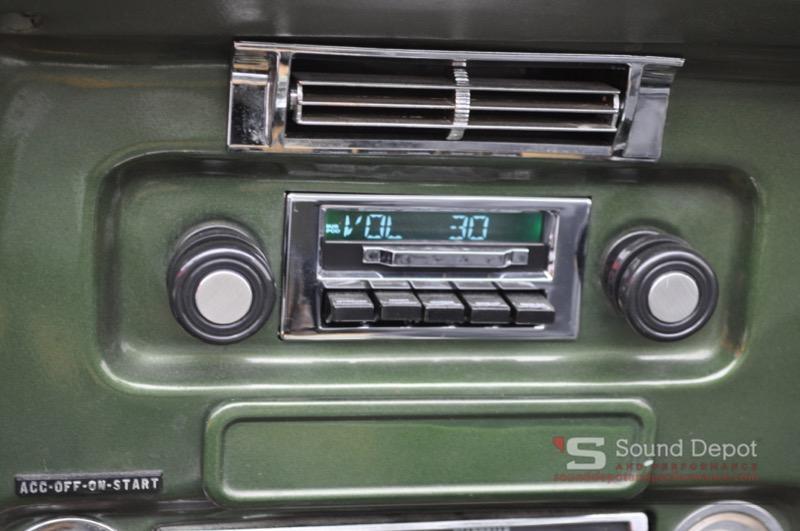 1972 Chevy Blazer K5 Audio Upgrades For Ocala Clientrhsounddepotandperformance: Chevy Blazer Radio At Gmaili.net