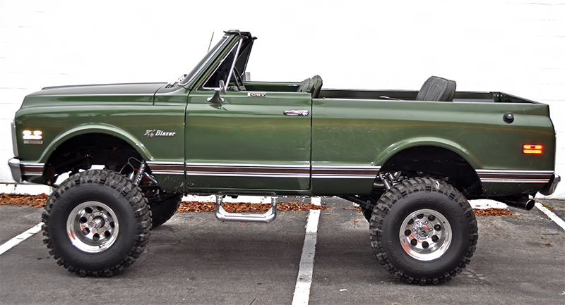 1972 Chevy Blazer K5 Audio Upgrades For Ocala Client
