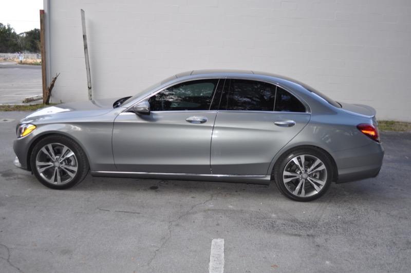 Mercedes c300 audio upgrade for gainesville client for Mercedes benz gainesville