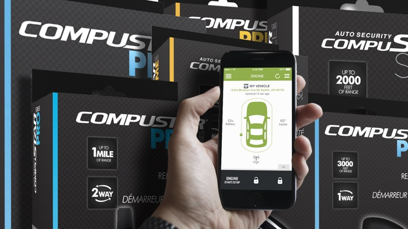 Compustar Security And Remote Start Systems