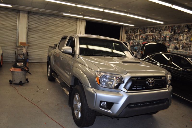 gainesville client gets toyota tacoma audio and video upgrade. Black Bedroom Furniture Sets. Home Design Ideas