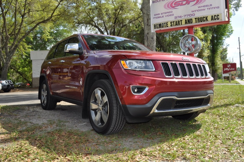 Jeep Grand Cherokee Cd Player Addition For Gainesville Client