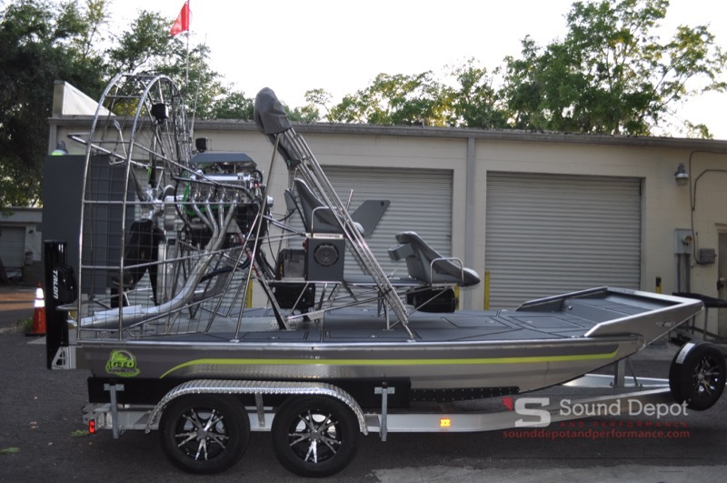 LOUD, Rockin' GTO Airboat Audio Install for Ocala Local