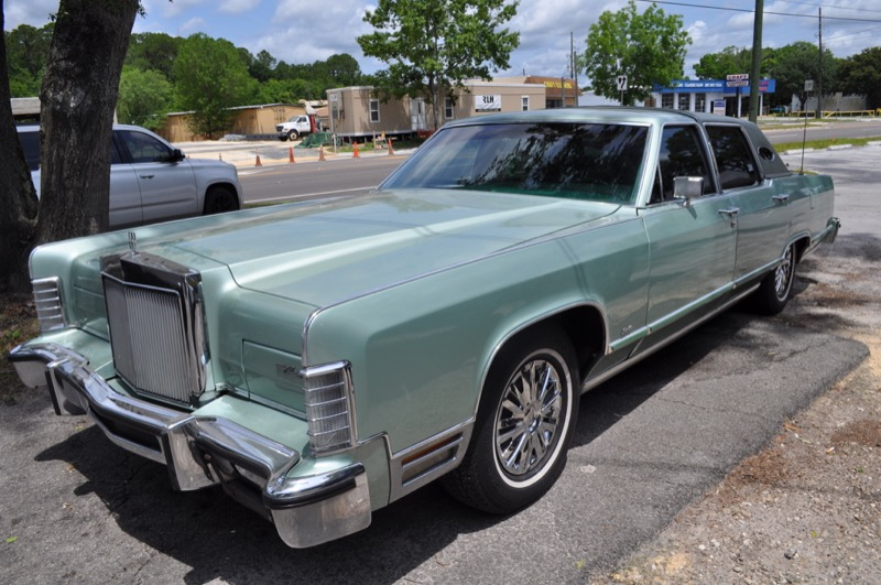 Long Time Gainesville Client Gets Serious Lincoln Town Car