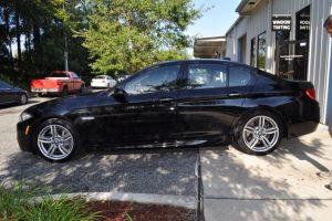 BMW 550i Tint