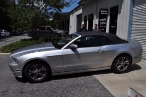 Ford Mustang Window Film