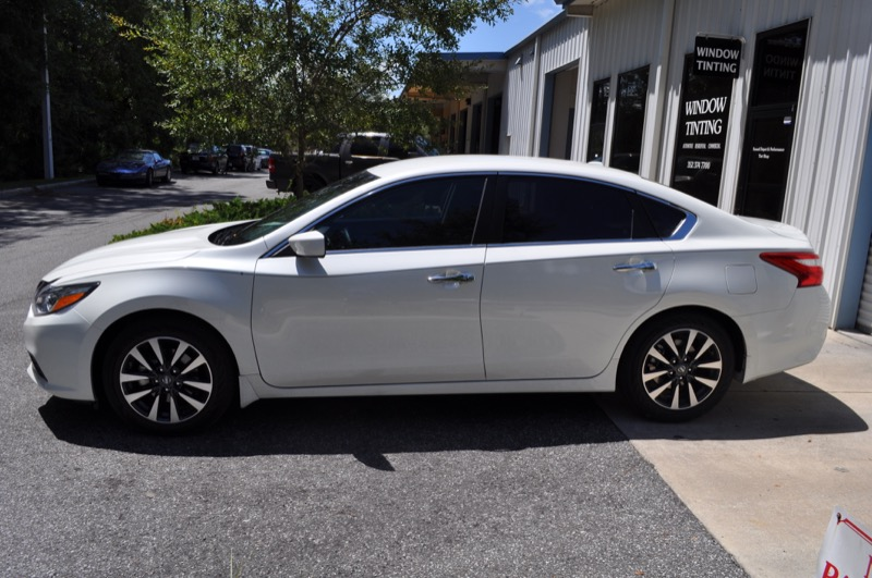 Brand New 2016 Nissan Altima Receives Dramatic Tint