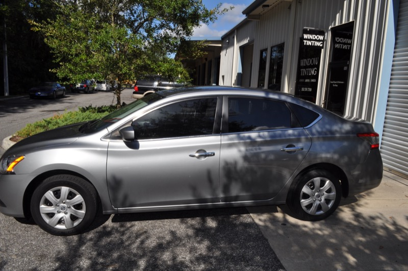 Gainesville client chooses suntek for sentra window tint for 16 window tint