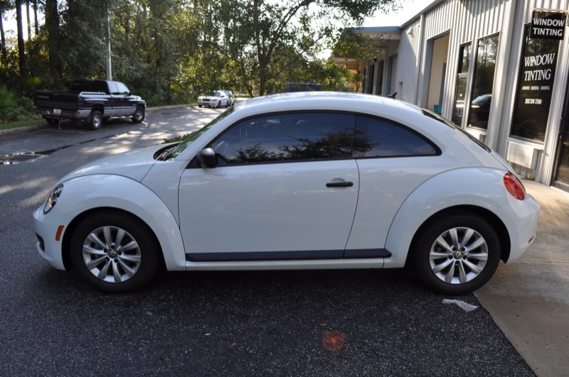Vw Beetle Window Tint For Gainesville Car Dealership