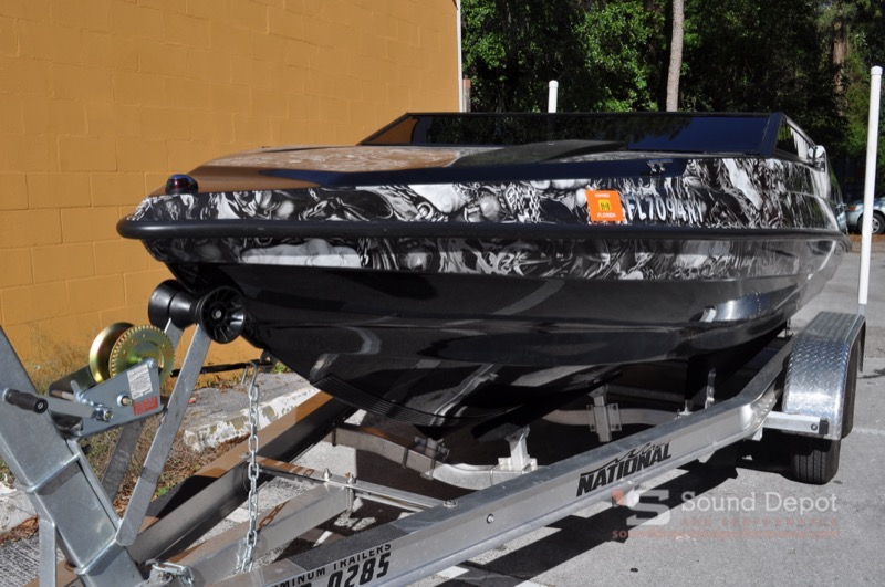 Custom Boat Audio System for Gainesville Boating Enthusiast