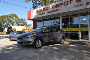 Ford Fiesta Backup Camera