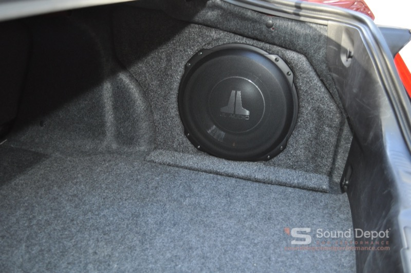 Ford Mustang Subwoofer