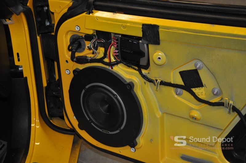 Chevrolet Corvette Audio and Technology Upgrade for