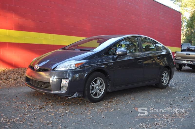 Toyota Prius Audio System Upgrade for Gainesville Client
