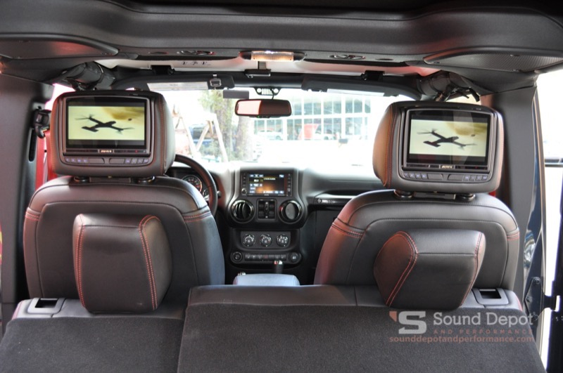 Gainesville Client Adds Jeep Wrangler Unlimited Rear Seat