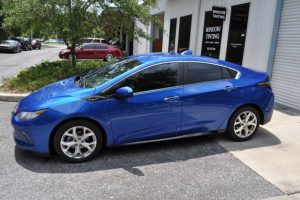Gainesville Client Adds Style and Protection with Chevy Volt Window Tinting