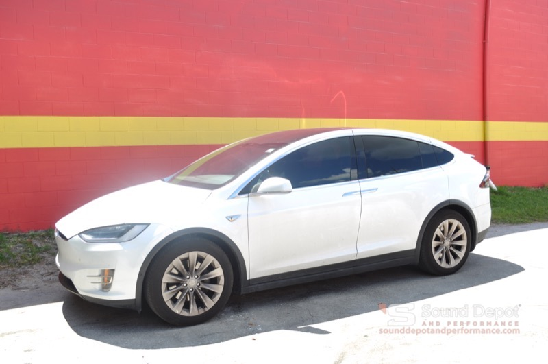 Tesla Model X Window Tint For Gainesville Client